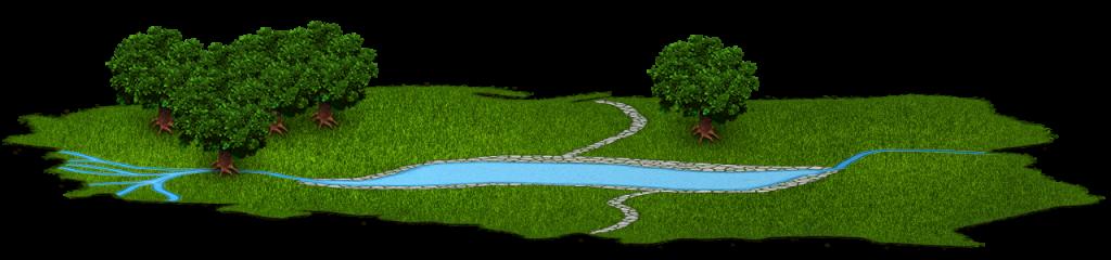 Bannière Lac